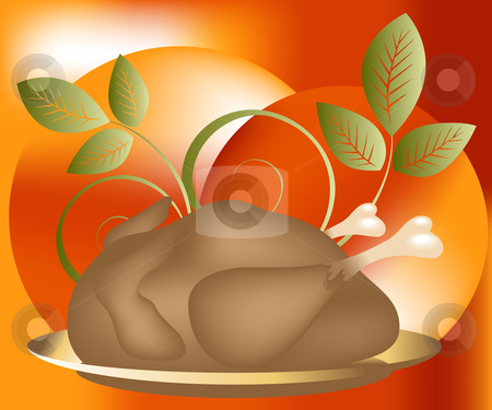 Thanksgiving Concept stock vector clipart, Thanksgiving Concept Illustration Image, you can use it for Thanksgiving  sale time or seasons by Nabeel Zytoon