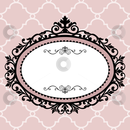 Decorative vintage frame stock vector