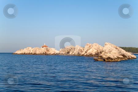 Rocky Island stock photo, A scenic coast line in Dubrovnik, Croatia by Kevin Tietz