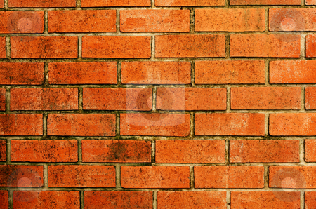 Stone red wall pattern natural surface  stock photo, Stone red wall pattern natural surface. by Keng po Leung