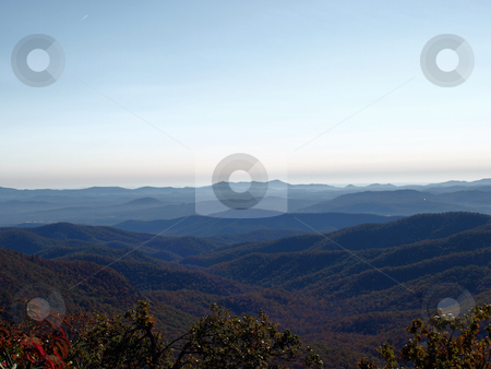 Fall dat stock photo, Along the trail in North Carolina. Views along the Art Loeb Trail. by Tim Markley