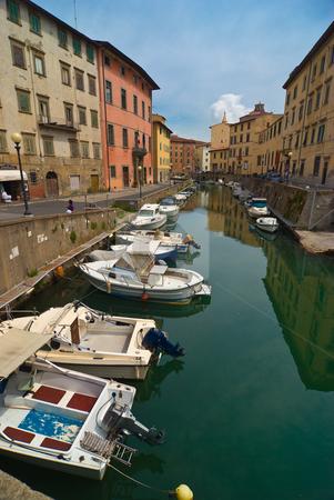 Livorno, Toskana, Italien, Tuscany, Italy stock photo, Livorno ist die Hauptstadt der gleichnamigen italienischen Provinz Livorno in der Region Toskana. - Livorno , also called Leghorn is a port city on the Ligurian Sea on the western edge of Tuscany, Italy. by Wolfgang Heidasch