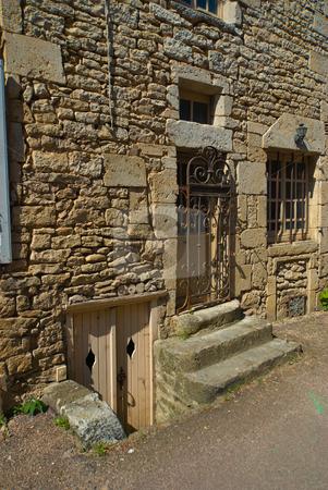In Flavigny-sur-Ozerain, Burgund/Bourgogne, France stock photo, Flavigny-sur-Ozerain ist eine franz?sische  Gemeinde im D?partement C?te-d by Wolfgang Heidasch