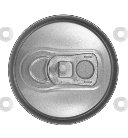 Can Top stock photo, Closed can top by Georgios Kollidas
