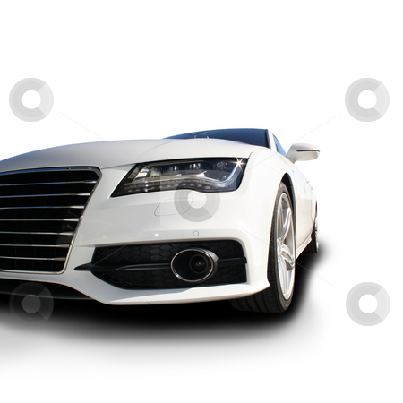 Sports Car stock photo, White Sports Car released by Viktor Thaut