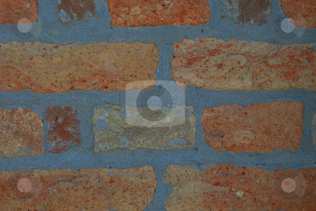 The colored wall stock photo, The colored wall of an old city building by zagart