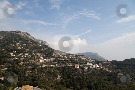 Mountain View stock photo, A wonderful mountainside view of Monaco by Kevin Tietz