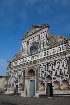 Church Santa Maria Novella stock photo, The church of Santa Maria Novella in Florence, Italy by Kevin Tietz