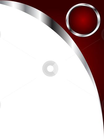 a deep red and silver and white business card or background temp
