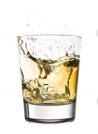 Whisky splash stock photo, Whisky splash by Anne-Louise Quarfoth