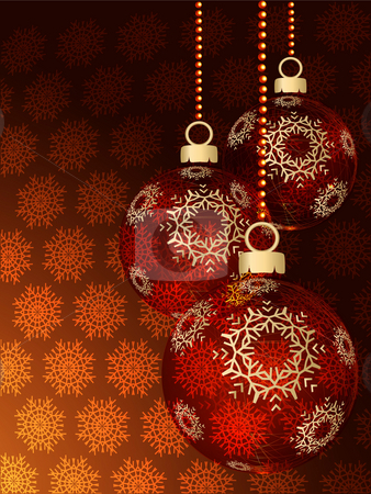 Transparent spheres stock photo, Christmas ornaments in the form of transparent spheres against a dark background by Alina Starchenko