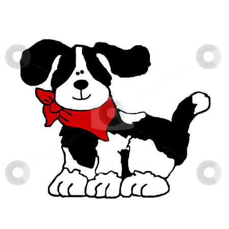 Comical Puppy stock photo, Comical Puppy by CHERYL LAFOND