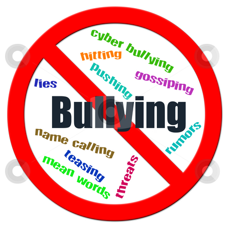 Stop Bullying stock photo, Stop Bullying illustration by CHERYL LAFOND