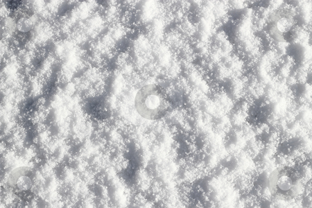 Fresh white snow close up background. stock photo, Fresh white snow close up background. by Stephen Rees