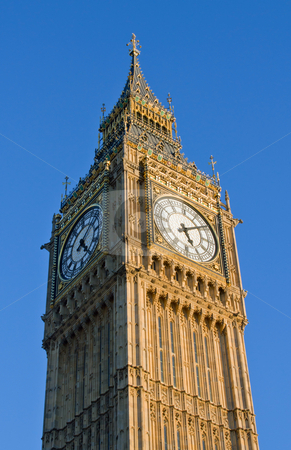 Big Ben Houses of Parliament clock tower in London UK. stock photo, Big Ben Houses of Parliament clock tower in London UK. by Stephen Rees