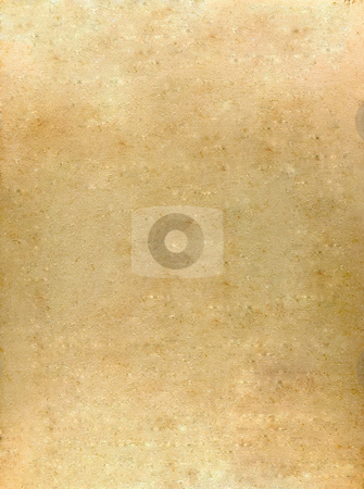 Old yellow parchment stock photo, The aged texture of an old yellow parchment by Dario Rota