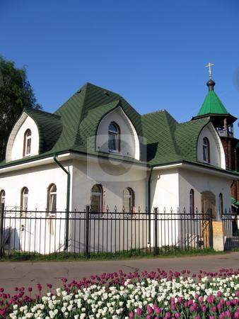 Church school stock photo, Sunday church school for children at Moscow at spring day by Vladislav Chekanin