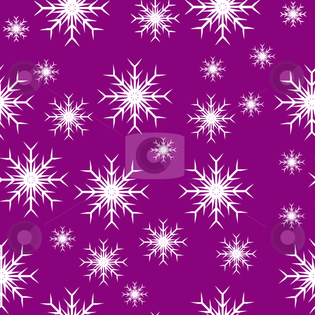 Mauve seamless snowflake background stock vector clipart, An abstract mauve seamless vector snowflake background which can be tiled by Mike Price