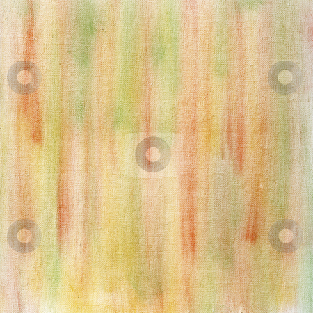 Pastel abstract on canvas stock photo, Red, yellow and green crayon pastel smudges on white artist canvas, self made by photographer by Marek Uliasz