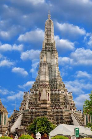 Wat ARun stock photo, Wat Arun, an ancient sun temple in Thailand by Arvind Balaraman