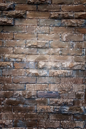 Old wall stock photo, Old wall by Udomsak Insome