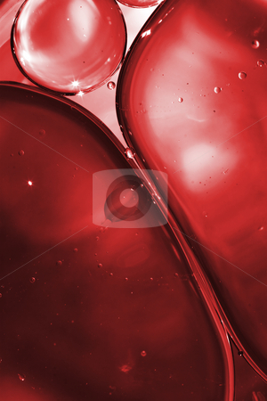 Blood and Bubbles stock photo, Macro view on red bubbles of blood by Dejan Lazarevic