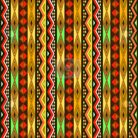 Ornamental design stock photo, Ornamental design with repeating geometric shapes by Richard Laschon