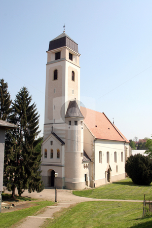 Church of Holy Cross, Krizevci, Croatia  stock photo,  by Zvonimir Atletic