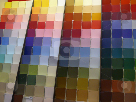 Paint Swatches stock photo, Swatches to choose paint color by Wanda Anthony