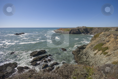 Northern California stock photo, The beautiful pacific coastline of northern California. by Mary Lane