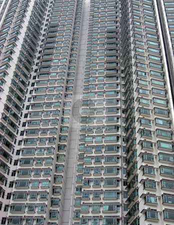 Appartments building in Hong Kong  stock photo, Tall and morden appartments building in Hong Kong by Ingvar Bjork