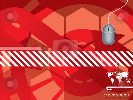 Technology background vector stock photo, Abstract background vector graphics created with technology by Aurelio Scetta