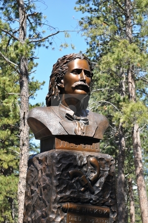 Deadwood - Wild Bill Statue stock photo, Deadwood - Wild Bill Statue by Liane Harrold