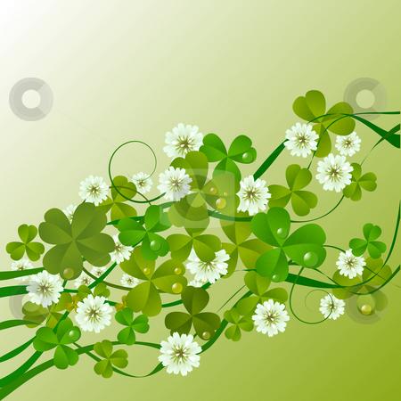 St. Patrick stock photo, St. Patrick's Day design background by Richard Laschon