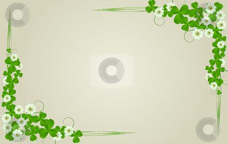 St. Patrick's Day postcard stock photo, St. Patrick's Day postcard, standard size by Richard Laschon