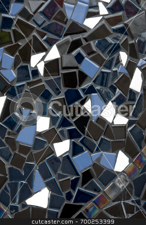 Mosaic Tiles Texture stock photo,  by J. Gracey Stinson