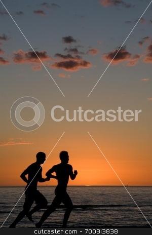 Sunset Run stock photo,  by William Landry