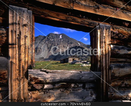 Colorado Ghost Town stock photo, A ghost town in Colorado. by Mike Norton
