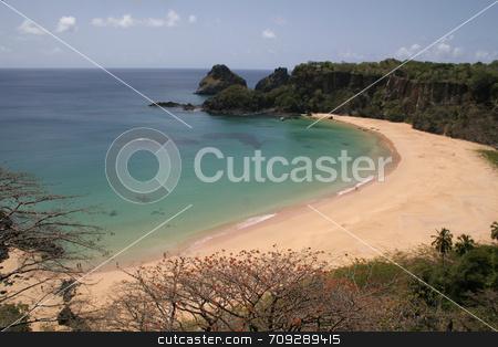 Sancho Bay stock photo, The