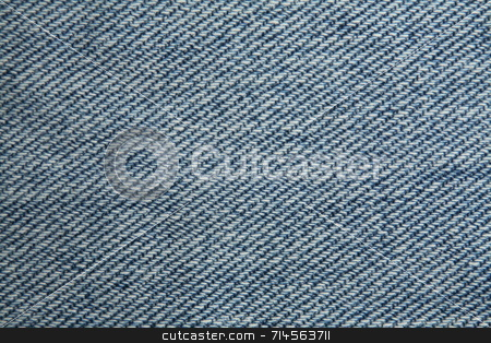Jeans Texture stock photo, A close up photo of the jeans texture. by Daniel Wiedemann