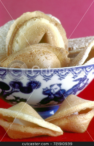 Fortune Cookie stock photo,  by Marlene Cabais