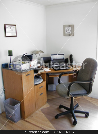 The Simple Office stock photo,  by Mark Bernas