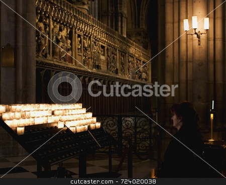 Save a prayer stock photo,  by Luca Mosconi