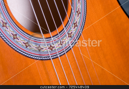 Guitar strings stock photo, KONICA MINOLTA DIGITAL CAMERA by Thomas Gavagan