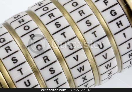 TRUTH - keyword set in combination puzzle box with letter rings  stock photo, Word TRUTH set as a secret keyword in a combination puzzle box with letter rings known as Cryptex by Marek Uliasz