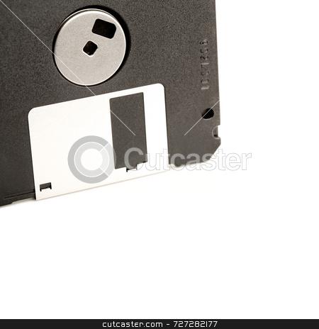 3.5 inch Floppy Disk stock photo, 3.5 inch Floppy Disk by Jon Stokes