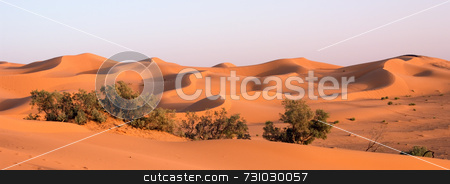 Orange Sand Dunes At Erg Chebbi, Morocco stock photo, Orange Sand Dunes at Erg Chebbi, Morocco by Jan-Peter Von Hunnius