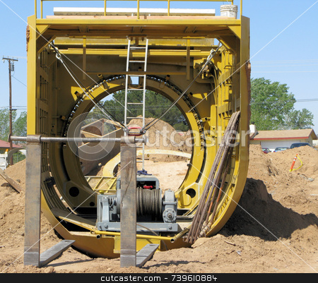Heavy Equipment  stock photo,  by Marlene Cabais