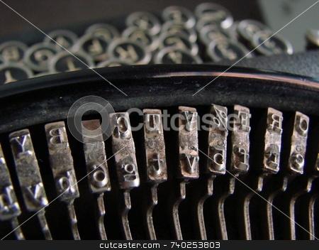 Typewriter stock photo,  by Dalla torre Gerardo