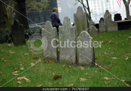 Tombs in the city  stock photo,  by Aivlis Rios